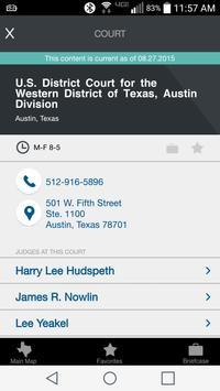 Texas openCourts apk screenshot