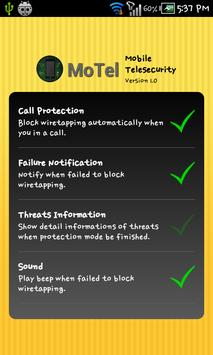 MoTel Lite (Anti-wiretapping) apk screenshot