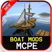 Boat Mods For MCPE icon