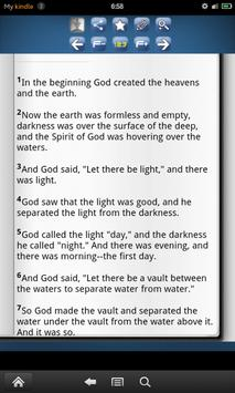 The Holy Bible lite 18 vers. apk screenshot