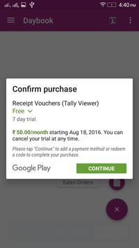 Tally Viewer apk screenshot