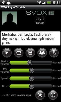 SVOX Turkish/Türk Leyla Trial poster