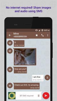 Share Via SMS (SVS) apk screenshot