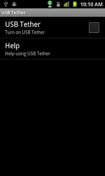 Wifi Hotspot & USB Tether Lite apk screenshot