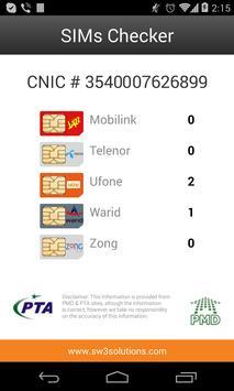 SIMs Checker apk screenshot