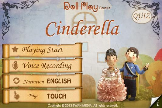Doll Play book Cinderella LITE apk screenshot