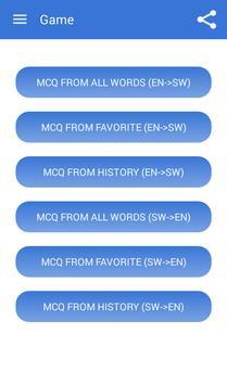 Swahili Dictionary Offline apk screenshot