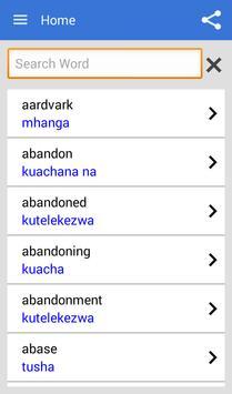 Swahili Dictionary Offline poster