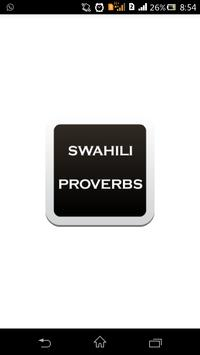 Swahili Proverb poster
