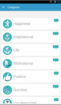 The Daily Quotes apk screenshot