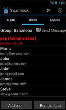 Swarmlock Lite apk screenshot