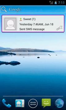 Message Widget (SMS/MMS) poster