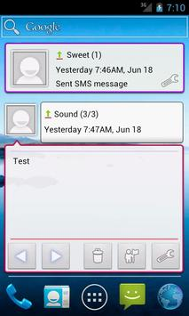 Message Widget (SMS/MMS) apk screenshot