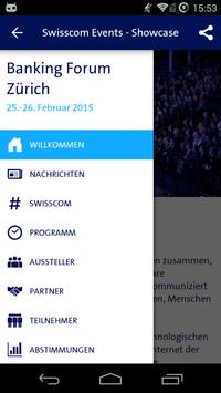 Swisscom Events - Showcase poster