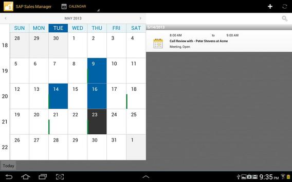 SAP Sales Manager apk screenshot