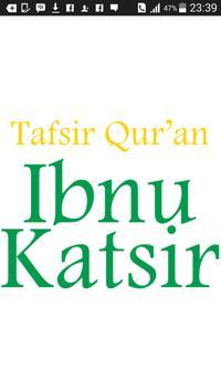Tafsir Qur'an - Ibnu Katsir poster