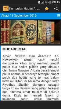 Kumpulan Hadits Arbain Nawawi apk screenshot