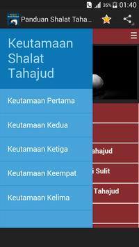 Panduan Shalat Tahajud apk screenshot