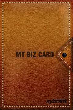 My Biz Card poster