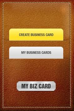 My Biz Card apk screenshot