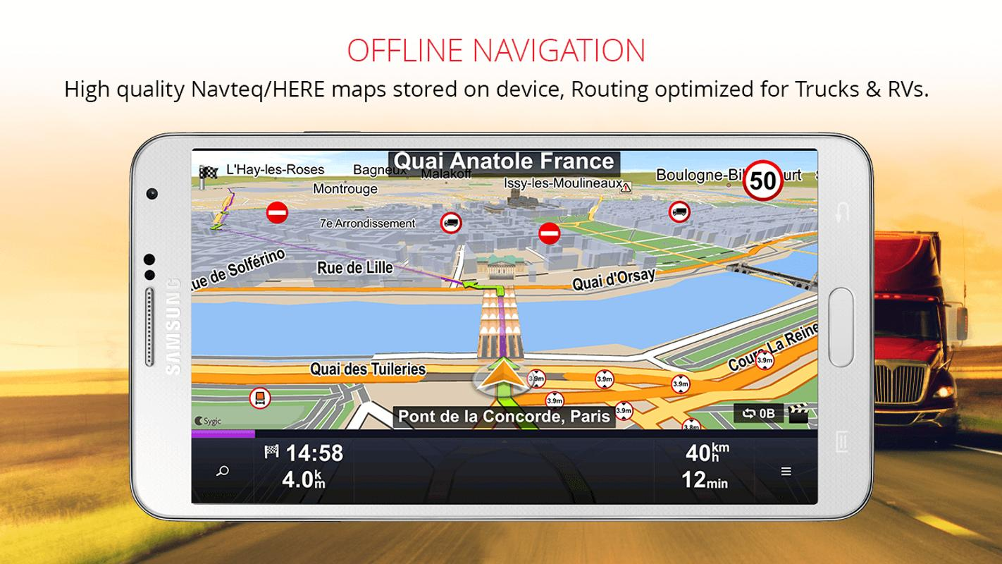 Sygic Truck Gps Navigation Apk Download Free Travel
