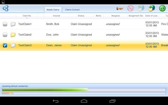 Symbility Mobile Claims apk screenshot