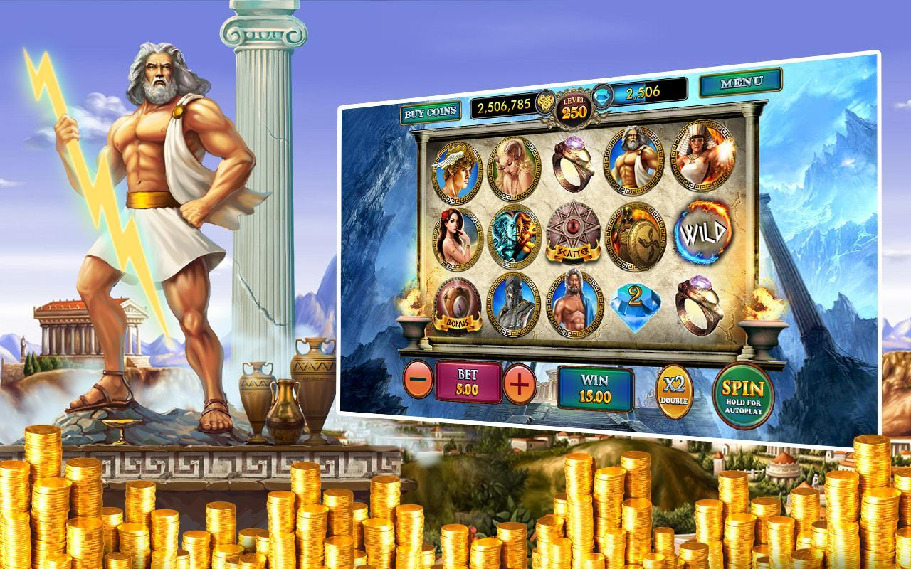 free casino slot games zeus