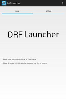 DRF Launcher poster