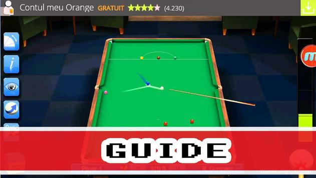Guide for Pro Snooker 2015 apk screenshot
