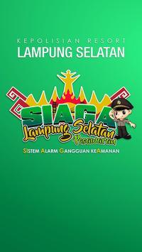 SIAGA Instansi Lampung Selatan poster