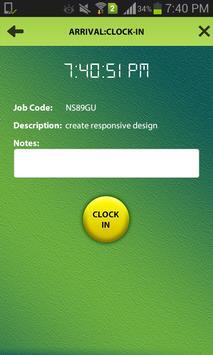 ClockWork for Employees apk screenshot
