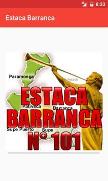 Estaca Barranca - Perú poster