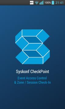 Syskonf CheckPoint poster