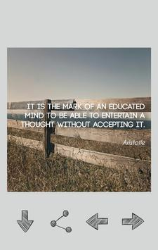 Aristotle Quotes poster