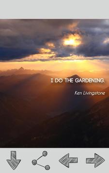 Gardening Quotes poster