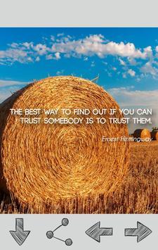 Ernest Hemingway Quotes apk screenshot
