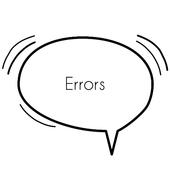 Errors Quotes icon