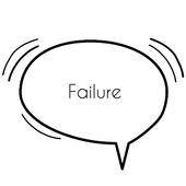 Failure Quotes icon