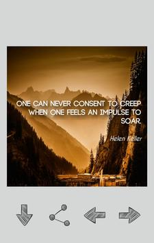 Helen Keller Quotes apk screenshot