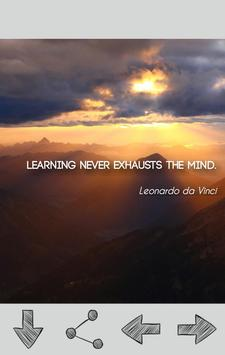 Leonardo da Vinci Quotes apk screenshot