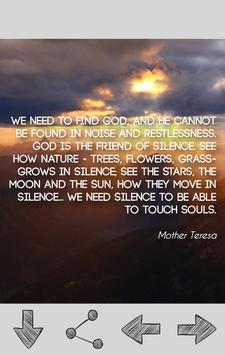 Mother Teresa Quotes poster