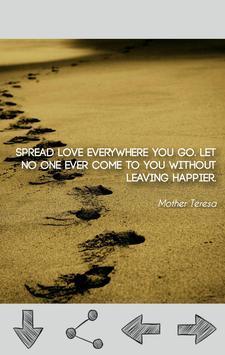 Mother Teresa Quotes apk screenshot
