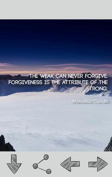 Mahatma Gandhi Quotes apk screenshot