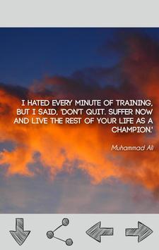 Muhammad Ali Quotes apk screenshot