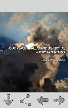 Peace Quotes apk screenshot