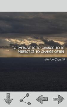 Winston Churchill Quotes poster