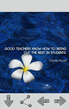 Teacher Quotes apk screenshot