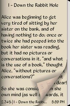 Alice's in Wonderland apk screenshot