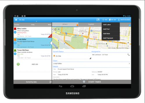 GeoOp - Job Management apk screenshot