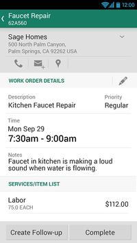 Sage Mobile Service apk screenshot